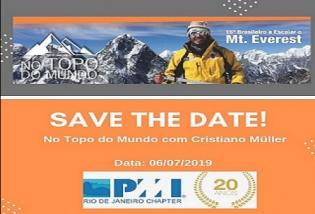 WORKSHOP 'NO TOPO DO MUNDO - CONQUISTANDO O SEU EVEREST