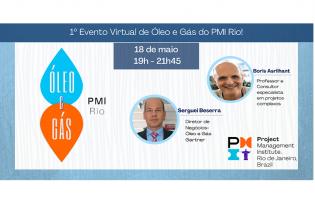 1º Evento Virtual de Óleo e Gás do PMI-Rio