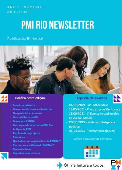 PMI RIO NEWSLETTER - Abril/2021