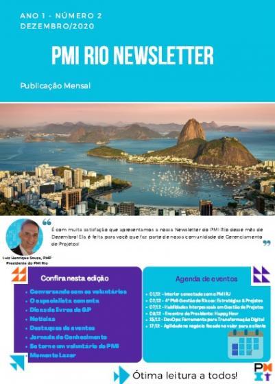 PMI RIO NEWSLETTER - Dezembro/2020