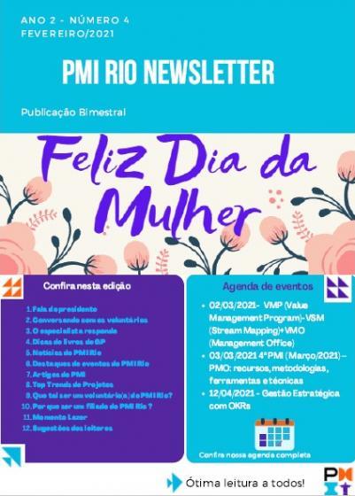 PMI RIO NEWSLETTER - Fevereiro/2021