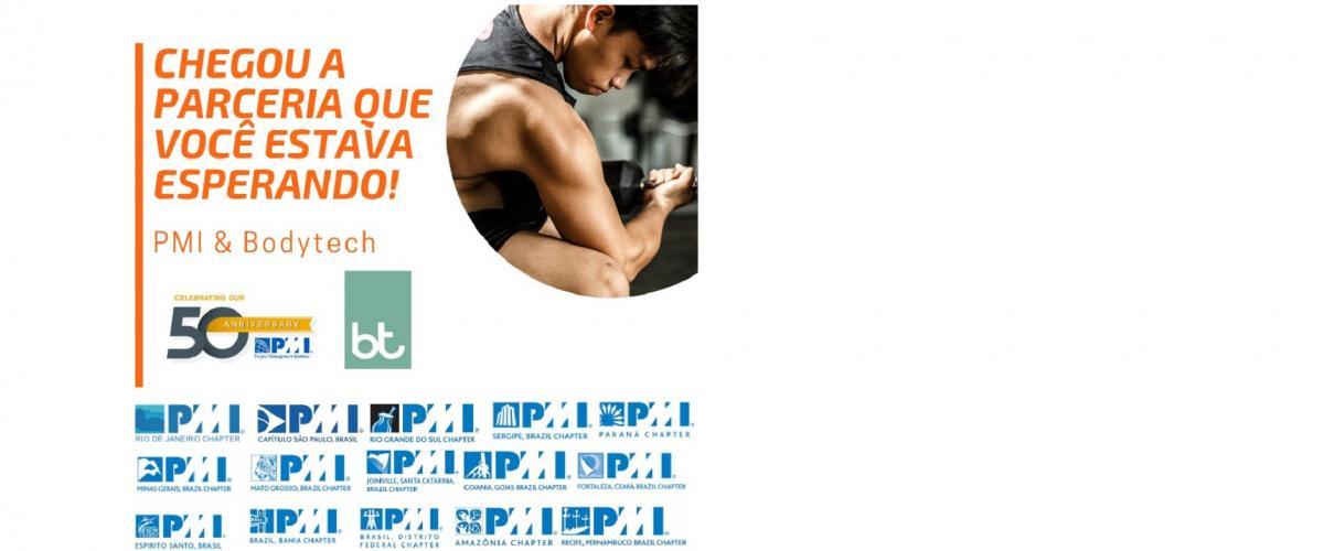 Chegou a parceria que você estava esperando! PMI & Bodytech