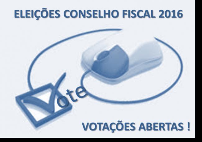 Eleições Conselho Fiscal 2016 - Votações Abertas!