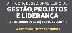 XIII Congresso Brasileiro de Gestão de Projetos e Liderança (Porto Alegre)