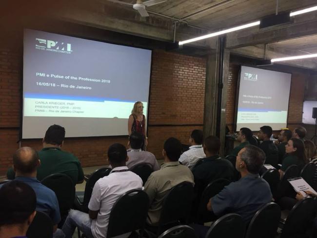 PMI RIO fortalece os laços com os profissionais da comunidade de gerenciamento de projetos